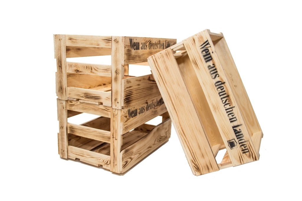 9er set weinkisten aus holz holzkiste allzweckkiste weinregal holzbox rustikal ebay. Black Bedroom Furniture Sets. Home Design Ideas